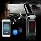Promo Nirkabel Bluetooth V2 Stereo Mobil Kit Fm Transmitter Mp3 Disk Usb Player Hitam Murah