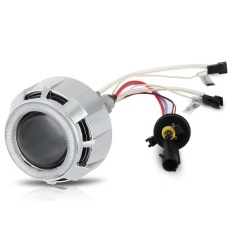 Beli Wisebuy 2 5 Car Headlight Bi Xenon Hid Double Ccfl Angel Eye Projector Lamp Lens Kit Intl Yang Bagus