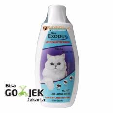 Wiyadistore - Bedak Kucing Anti Kutu Flea And Tick - Exodus 100gr By Wiyadistore.