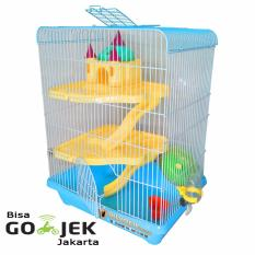 Jual Wiyadistore Kandang Hamster Castil Besar Yd303 Biru Ori
