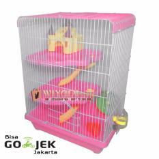 Toko Wiyadistore Kandang Hamster Castil Besar Yd303 Pink Lengkap
