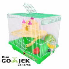 Toko Wiyadistore Kandang Hamster Castil Medium Yd301 Green Terlengkap Dki Jakarta