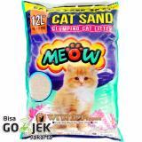 Toko Wiyadistore Pasir Kucing Gumpal Wangi Meow 12L Termurah Dki Jakarta