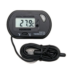 Promo Wma Digital Lcd Fish Aquarium Marine Vivarium Thermometer 50°C To 70°C Intl Murah