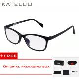 Tips Beli Wolfram Kateluo Komputer Kacamata Anti Laser Kelelahan Radiasi Tahan Kacamata Bingkai Kacamata Tontonan Oculos 13031 Hitam Membeli 1 Mendapatkan 1 Hadiah Yang Bagus