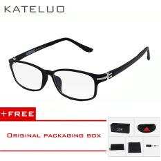 Diskon Wolfram Kateluo Wolfram Komputer Kacamata Anti Lelah Radiasi Tahan Kacamata Bingkai Eyewear Tontonan Oculos 13028 Hitam Membeli 1 Mendapatkan 1 Hadiah Akhir Tahun