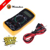 Review Toko Womdee Digital Multimeter Multi Tester Holdpeak 838L Manual Ranging Multi Tester With Non Contact Voltage Test Volt Amp Ohm Meter With Diode And Hfe Test Intl