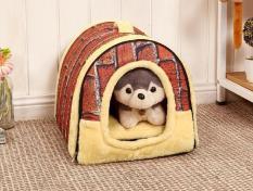 Womdee Anjing Rumah Portabel Bata Hangat dan Nyaman untuk Hewan Peliharaan Kecil-Internasional