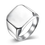 Katalog Wanita Fashion Titanium Steel Ring Sliver Intl Vakind Terbaru