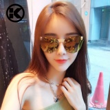 Review Wanita Gothic Sunglasses Pria Tengkorak Bingkai Logam Candi Sunglasses Oculos De Sol Uv400 Tiongkok