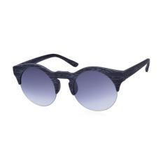 Jual Wanita Setengah Bulat Kayu Bingkai Kacamata Terpolarisasi Kacamata With Kotak Ori