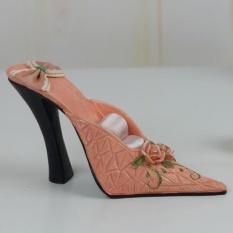 Wanita Tinggi Tumit Sepatu Perhiasan Showcase Display Stand Holder Rak-Internasional