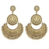 Beli Lampu Gantung Antik Wanita Perhiasan Anting Anting Emas Perak Anting Anting Besar Etnik Geometris Unik Aksesoris Fashion Emas Kuno Dengan Kartu Kredit