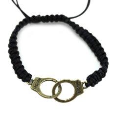 Gambar Produk Universal Handcuffs Borgol Tangan India Selengkapnya. Source · Wanita Pria Punk Gelang Dikepang Borgol Bangle Gelang-Intl