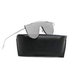 Jual Pria Wanita Vintage Retro Kacamata Unisex Fashion Aviator Mirror Lens Sunglasses Aku Branded Murah