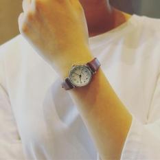 Wanita QUARTZ Analog Wrist Kecil Dial Halus Watch Mewah Bisnis Jam Tangan