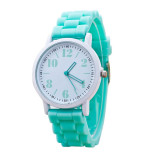 Harga Wanita Silicone Motion Quartz Watches Green Satu Set