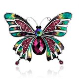 Wanita Vintage Butterfly Bros Corsage Pin Pesta Pernikahan Perhiasan Hadiah Intl Original