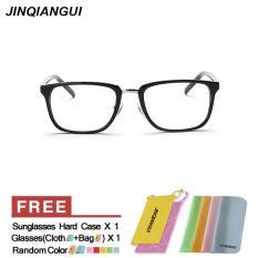 Spesifikasi Women S Eyewear Fashion Rectangle Glasses Brightblack Frame Glasses Plain For Myopia Women Eyeglasses Optical Frame Glasses Oculos Femininos Gafas Intl Murah Berkualitas