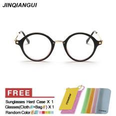 Eyewear Wanita Fashion Vintage Retro Kacamata Pink Bingkai Kacamata Polos Untuk Miopia Wanita Kacamata Optik Kacamata Oculos Femininos Gafas Intl Terbaru