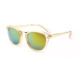 Toko Eyewear Wanita Sunglasses Wanita Oval Sun Kacamata Kuning Warna Desain Merek Lengkap Hong Kong Sar Tiongkok