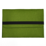 Wool Felt Envelope Laptop Sleeve Case Cover Bag For Apple Macbook Air 11 Inch Green Oem Diskon 50