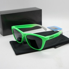 WSmall Sunglasses Polarized Frogskins Glasses Tr90 Suit Sunglasses