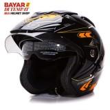 Wto Helmet Impressive Spectra Hitam Oren Banten Diskon 50