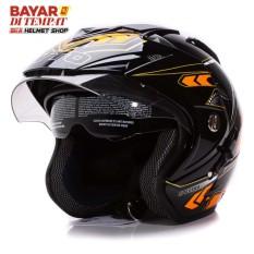 Harga Wto Helmet Impressive Spectra Hitam Oren Branded