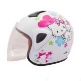 Spesifikasi Wto Helmet Kids Kop Charmmy Putih Murah Berkualitas