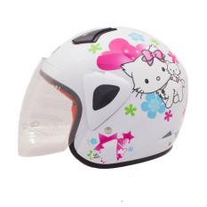 Iklan Wto Helmet Kids Kop Charmmy Putih