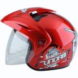 Beli Wto Helmet Kids Pet Gundam 3 Merah Terbaru