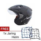 Jual Wto Helmet Pro Sight Hitam Promo Gratis Jaring Helm Import