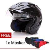Jual Wto Helmet Pro Sight Hitam Promo Gratis Masker Wto Helmet