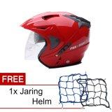 Review Wto Helmet Pro Sight Merah Promo Gratis Jaring Helm Banten