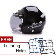 Perbandingan Harga Wto Helmet Retro Bogo Gentleman Hitam Promo Gratis Jaring Helm Di Banten