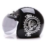 Harga Wto Helmet Retro Bogo Ride All Day Hitam Silver Wto Helmet Baru