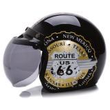 Jual Wto Helmet Retro Bogo The New 66 Hitam Gold Import