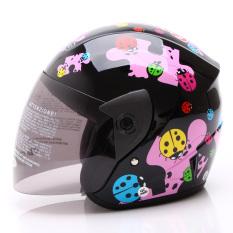 WTO Helmet Z1R KOP - Little Bug - Hitam Pink