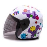 Toko Wto Helmet Z1R Kop Little Bug Putih Ungu Banten