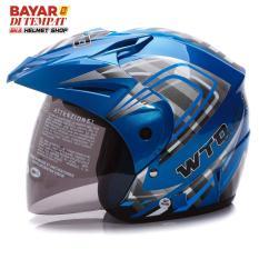 Jual Wto Helmet Z1R Pet Graffica Seablue Banten