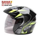 Toko Wto Helmet Z1R Pet R2 Rider Hitam Hijau Wto Helmet Online