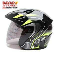 Spesifikasi Wto Helmet Z1R Pet R2 Rider Hitam Hijau Dan Harganya