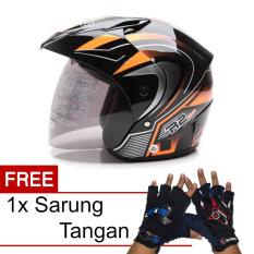 Review Wto Helmet Z1R Pet R2 Rider Hitam Oren Promo Gratis Sarung Tangan Di Banten