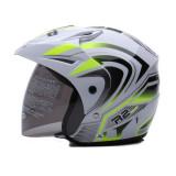 Toko Wto Helmet Z1R Pet R2 Rider Putih Hijau Neon Lengkap Di Banten
