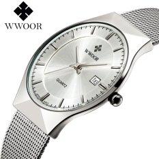 Review Toko Wwoor Bisnis Pria Watch 2017 Ultra Tipis Quartz Watches Baja Tahan Karat Jam Tangan Pria Kasual Jam Tangan Tahan Air Pria Jam Intl Online
