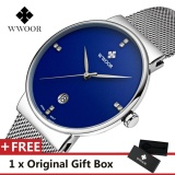 Spesifikasi Wwoor Top Brand Luxury Men S Watch Waterproof Tanggal Clock Male Olahraga Jam Quartz Jam Tangan Pria Jam Tangan Kasual Biru Intl Merk Wwoor