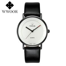 Ulasan Lengkap Tentang Wwoor Top Luxury Brand Watch Famous Fashion Sports Cool Men Quartz Watches Calendar Waterproof Leather Wristwatch For Male Wr8827 Fz1 Intl