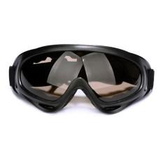 X400 Motor Bersepeda Angin Airsoft Sepeda Jalan Balap SWAT ATV Kacamata Keamanan Tahan Debu Mencolok Tahan Buah Kacamata Kacamata-Internasional