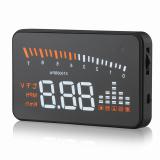 Toko X5 Universal Otomatis Mobil Kendaraan Mount 3 Inci Perumahan Mengepalai Tampilan Peringatan Overspeed Speedometer Kaca Depan Proyektor Sistem Alarm Dengan Obd Ii Euobd Antarmuka Yang Bisa Kredit